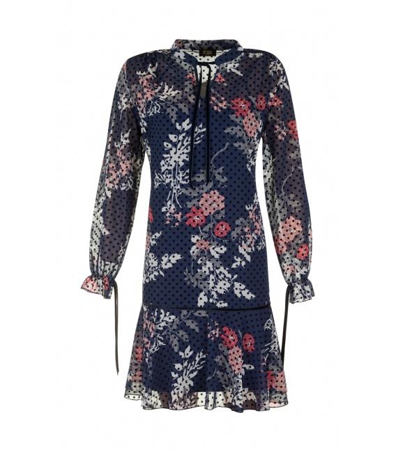 DRESS SHEILA dark blue