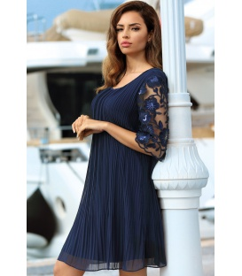 DRESS CHIARA DARK BLUE