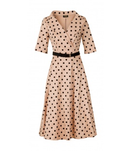 DRESS CHARLOTTE PINK COPPER PEA
