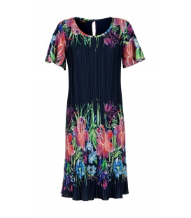 DRESS CHIARA FLOWERS COLOUR