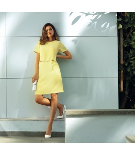 DRESS MARGO YELLOW