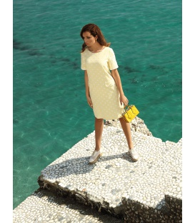 DRESS LUIZA YELLOW