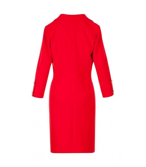 DRESS PANAMA RED