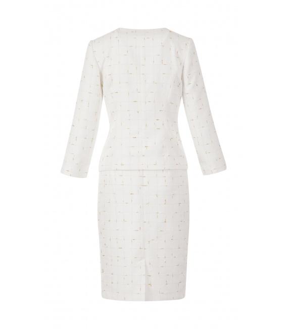 платье-костюм PRIMA ECRU