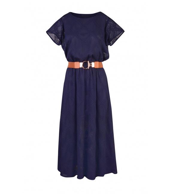 DRESS SHILA DARK BLUE
