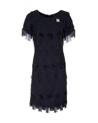 DRESS FLORENCE NAVY BLUE COLOR