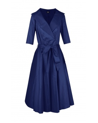 DRESS CHARLOTTE DARK BLUE