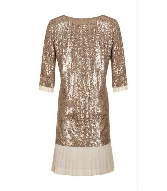DRESS SIMONA GOLD