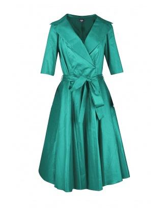 DRESS CHARLOTTE GREEN